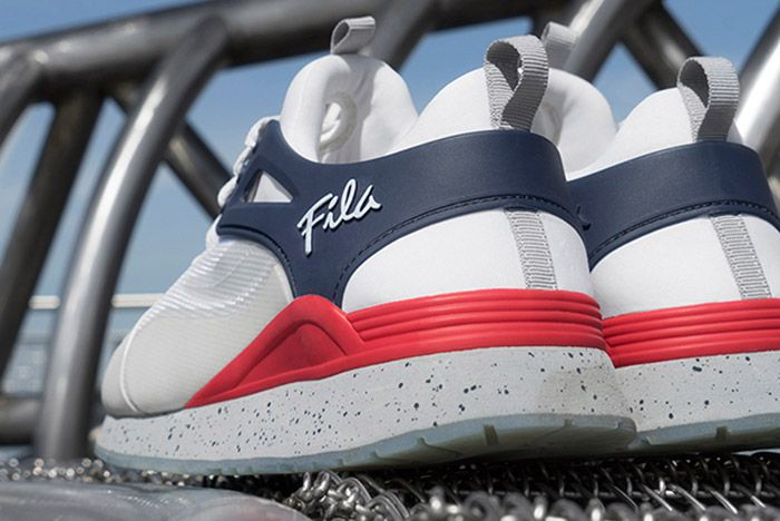 Fila Overpass Fusion 2 0 White Red Blue 3