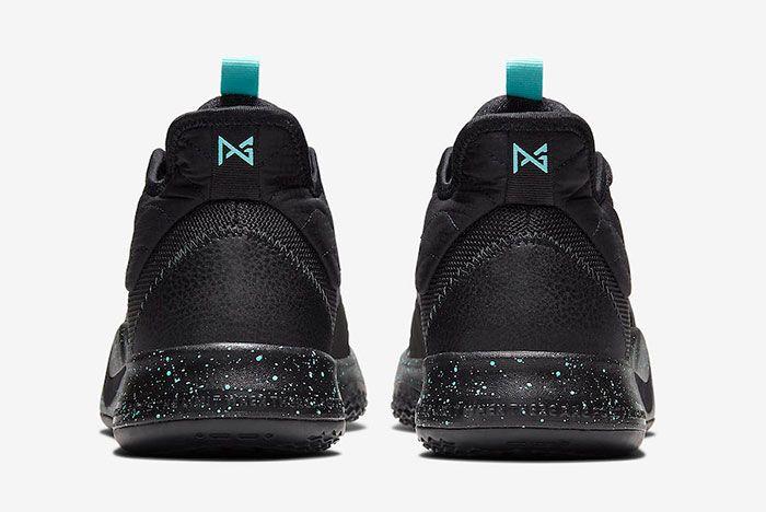 Nike Pg 3 Black Light Aqua Ao2607 006 Release Date Price 5 Heel