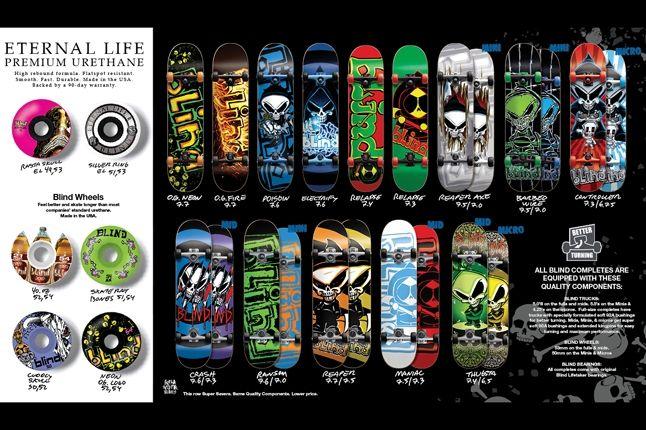 Blind Skateboard Decks Holiday 5 1