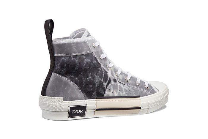Dior B23 High Top Leopard Print Sneaker 1 Side2