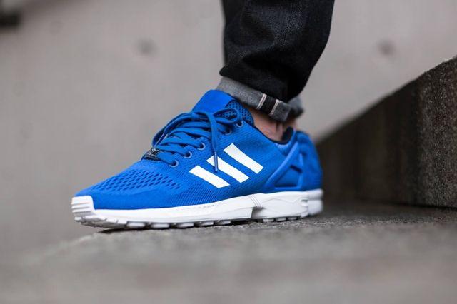 Adidas Zx Flux Strong Blue 3