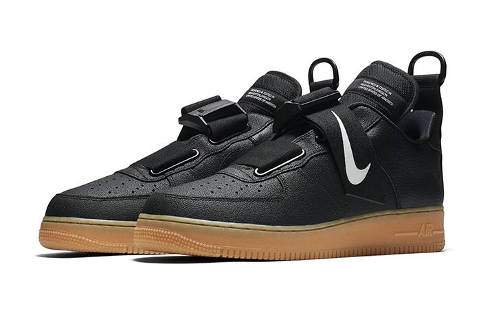 Nike Air Force 1 Low Utility Black Gum 1