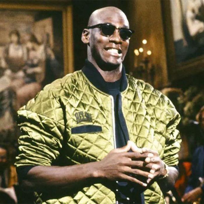 Michael Jordan Flight Jacket Snl