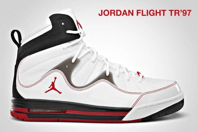Jordan Flight Tr97 Red Black 1