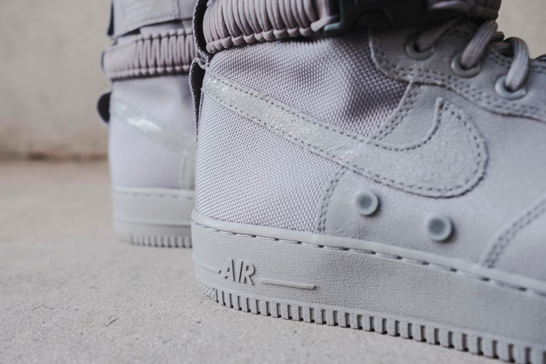 Nike Sf Air Force 1 Grey 12