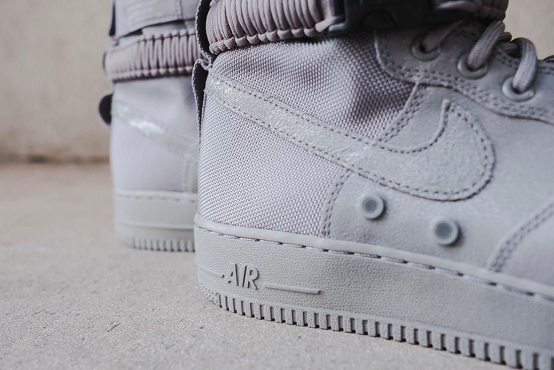 Nike Sf Air Force 1 Grey 12