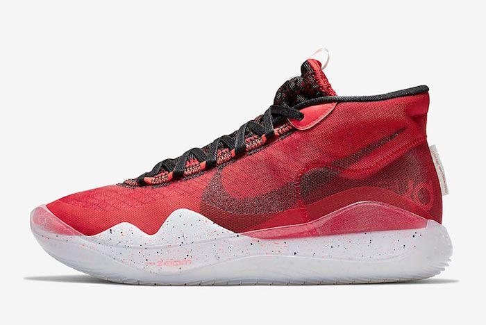 Nike Kd 12 University Red Ar4230 600 Release Date Side