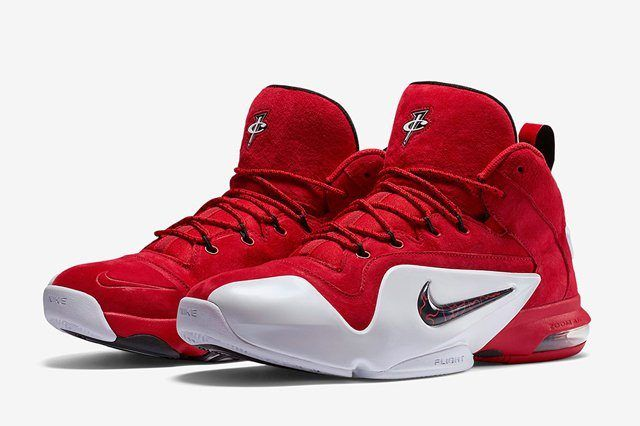 Nike Air Penny 6 Red Suede 4