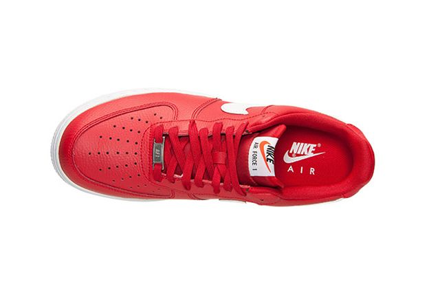 Nike Air Force 1 University Red 5