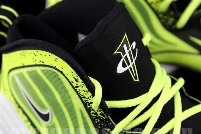 Nike Air Penny V Volt Tongue Detail 1