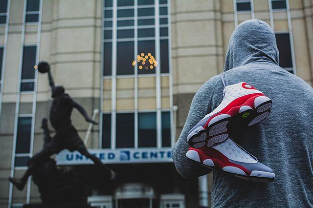 Air Jordan 13 Grey Toe 4