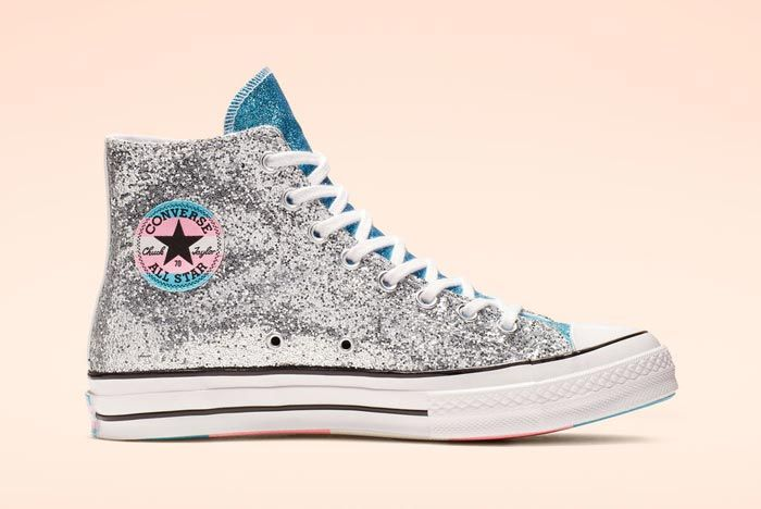 Chuck 70 Pride High Top Glitter Medial