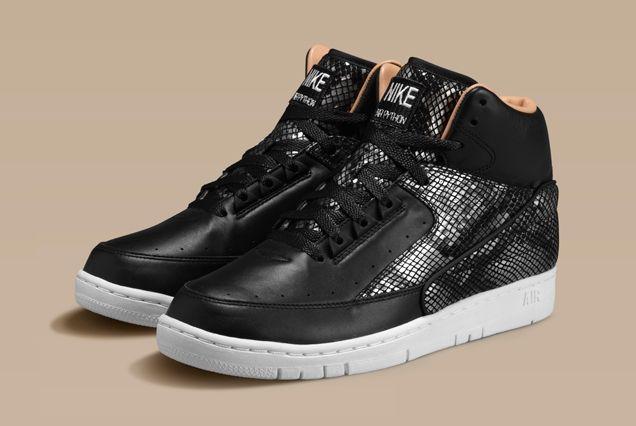Nike Air Python Lux Black Angle
