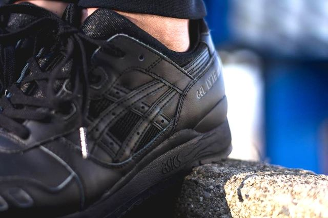 Asics Gel Lyte Iii Triple Black 3