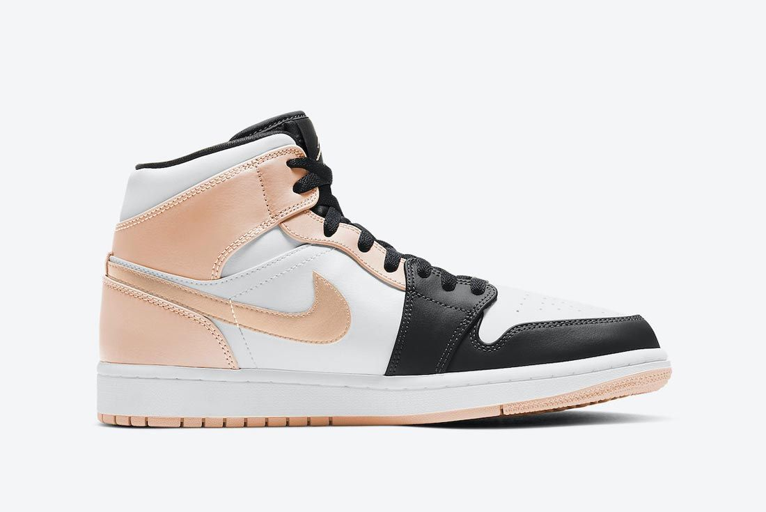 Air Jordan 1 Mid 'Crimson Tint'