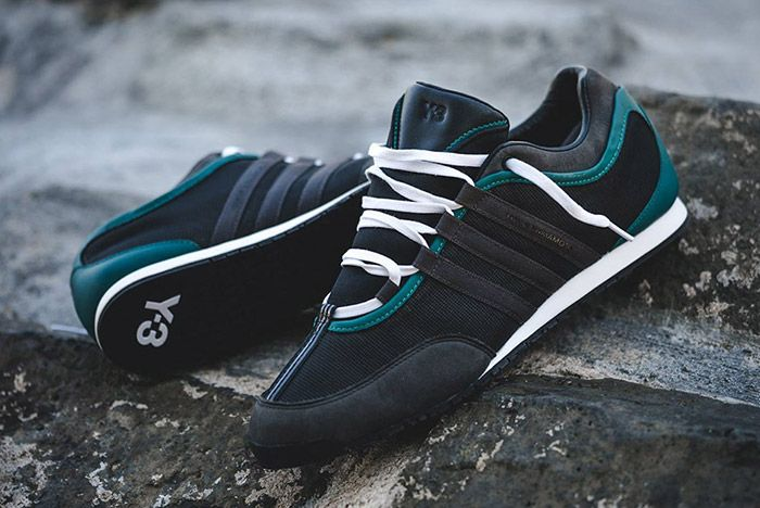 Adidas Y 3 Boxing Charcoal Teal 4