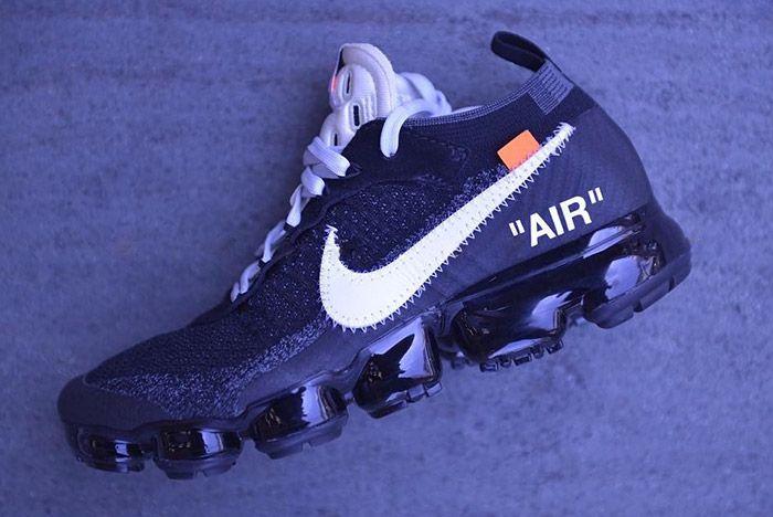 Off White Nike Vapormax Black 1