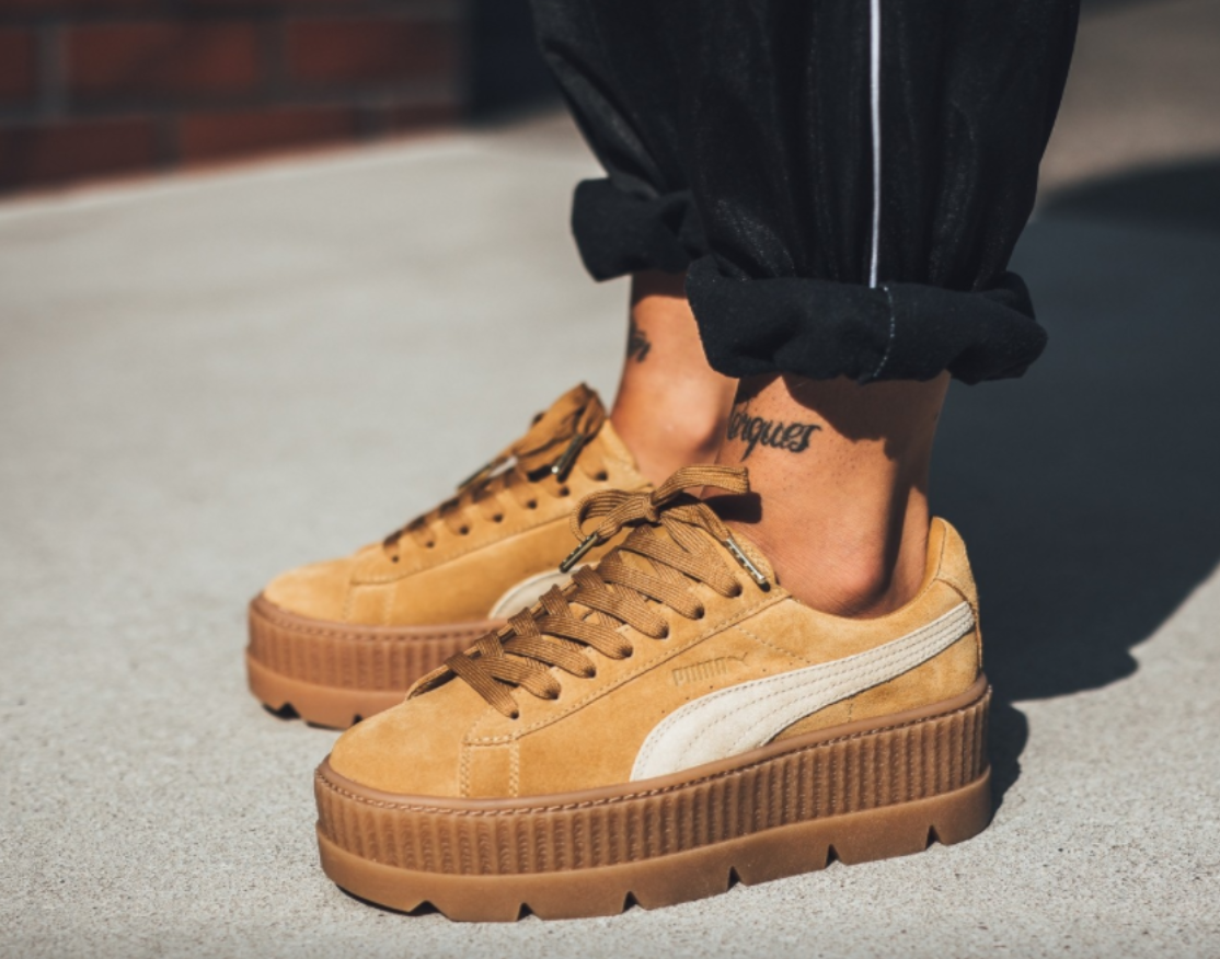 Puma Suede Cleated Creepers