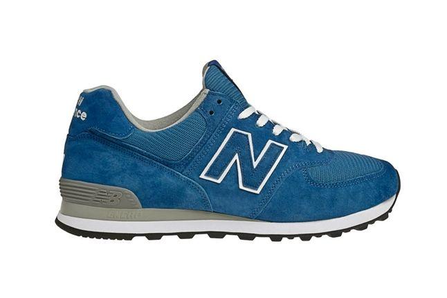 New Balance Race Inspired 574 Blue Profile 1