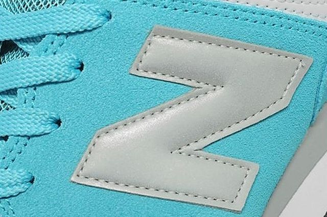 New Balance 574 Turquoise Silver White 5