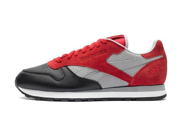 Reebok Classic Leather Stash Red Profile 1