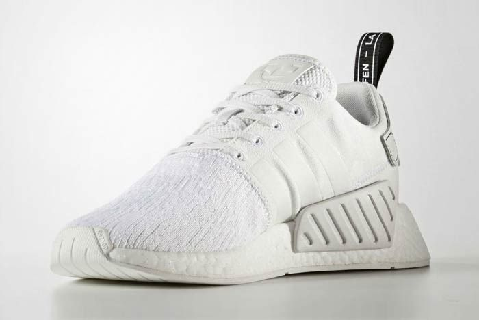 Adidas Nmd R2 Triple White 3