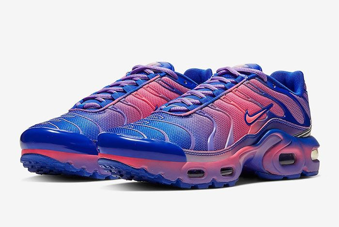 Nike Air Max Plus Gradient Purple Quarter