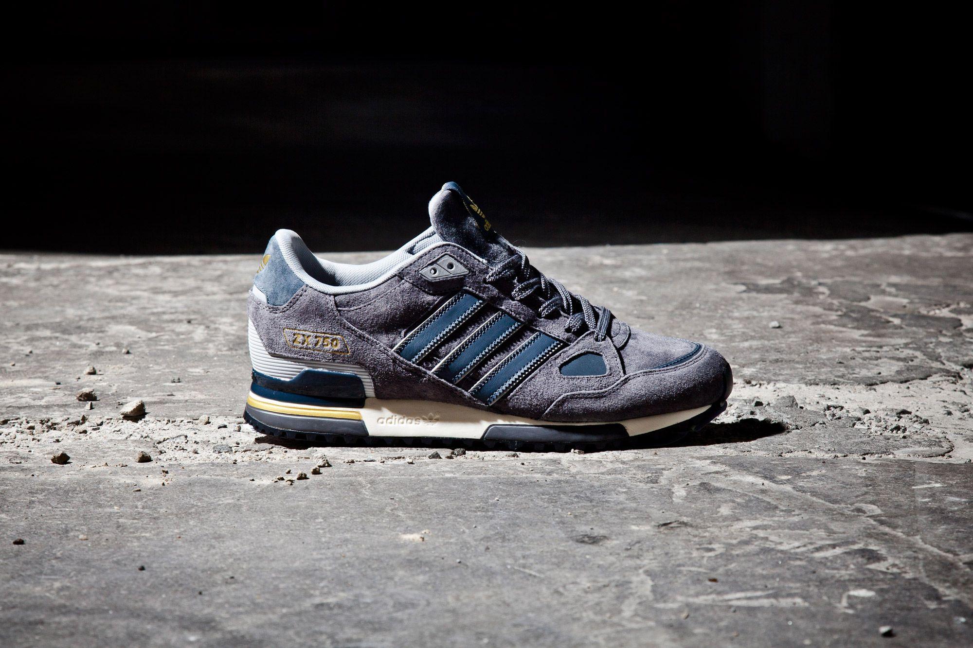 Adidas Fl Zx750 Grey Flash