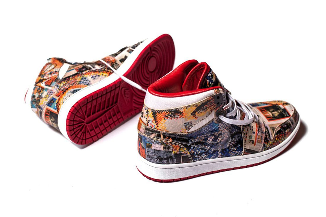 The Shoe Surgeons Latest Custom Turns Jordans Into Art4