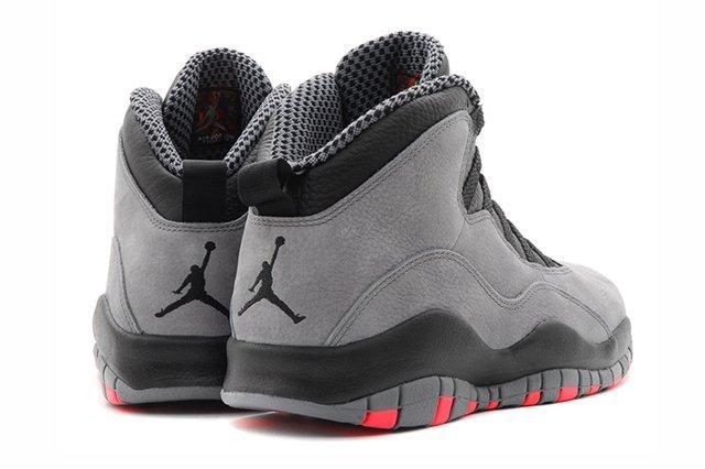 Air Jordan 10 Cool Grey Infrared 6