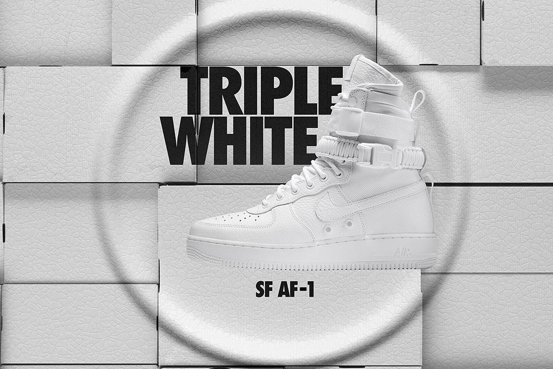 Nike Air Force 1 Sf White 8