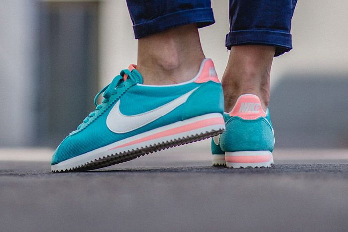 Nike Cortez Washed Teal Atomic Pink Wmns 1