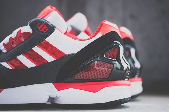 Adidas Zx 8000 Red White 6
