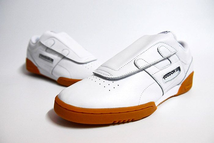 Beams Reebok Workout Low White 2