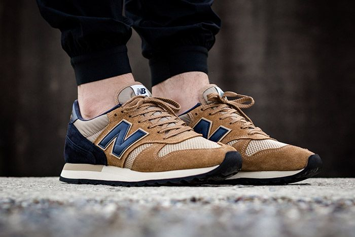 New Balance 770 Made In England Beige Navy 3