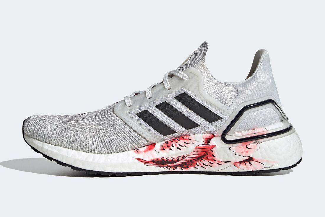 Adidas Ultraboost Cny Grey Left