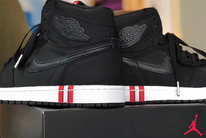 Air Jordan 1 Paris Saint Germain Psg Heel Sneaker Freaker