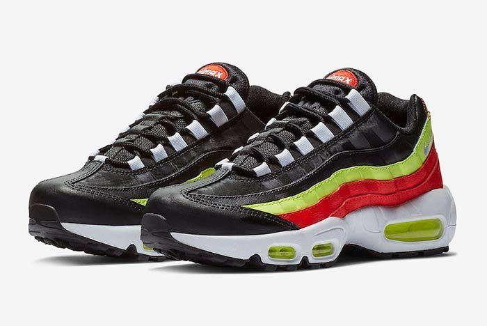 Nike Air Max 95 Black Neon Red 307960 019 4