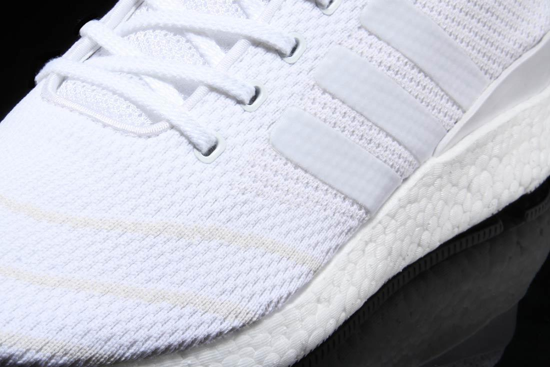 Adidas Busenitz Pure Boost Triple White 1