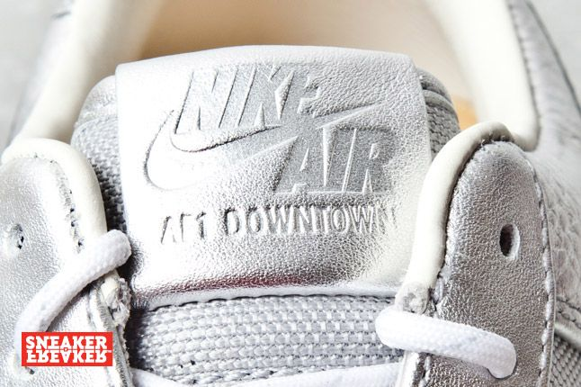Nike Air Force 1 Downtown Silver 6 2