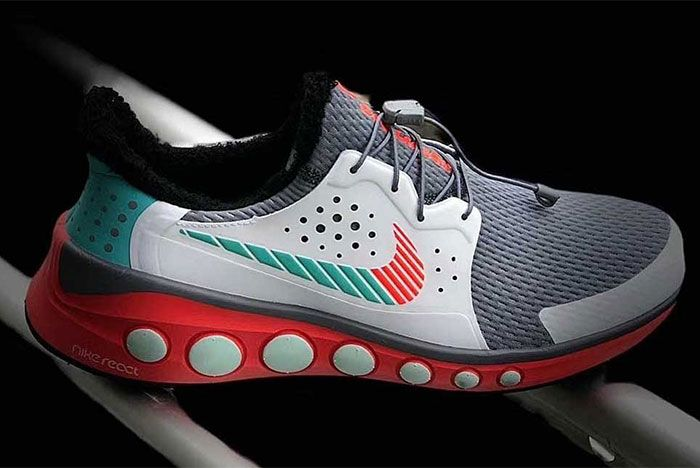Tinker Hatfield Nike React Frist Look Side Shot 1