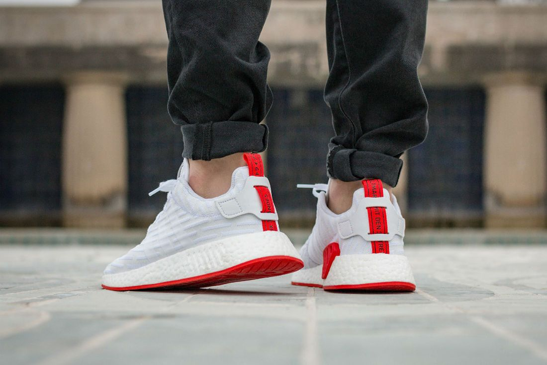 Adidas Nmd R2 Red Sole2