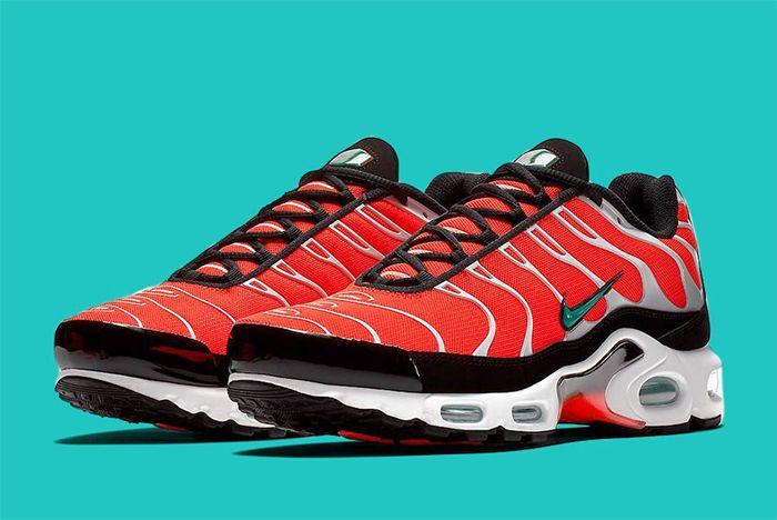 Nike Air Max Plus Red Teal 1