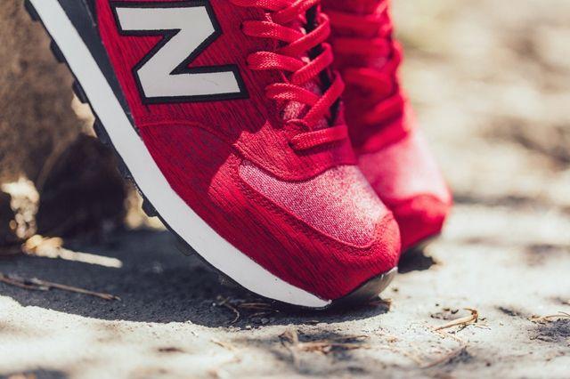 New Balance 574 Red Sweatshirt 2