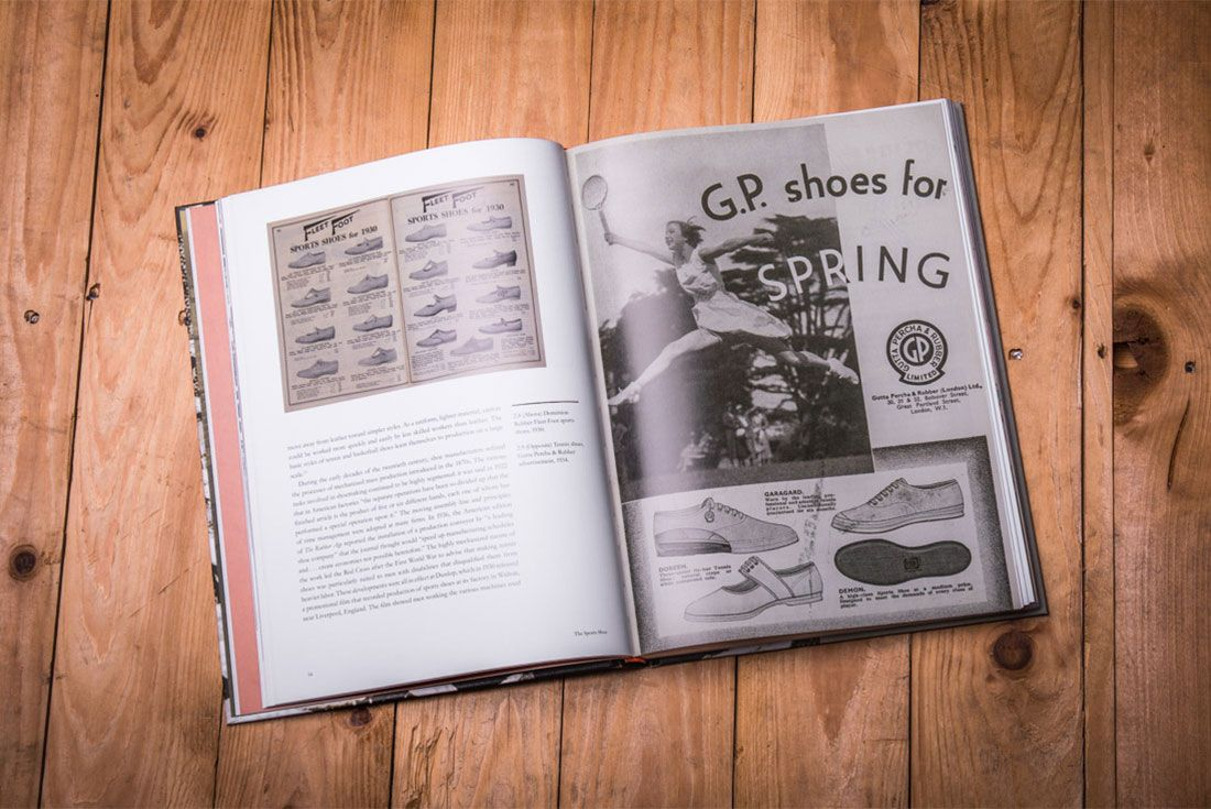 The Sports Shoe Book Lr 3 Pages
