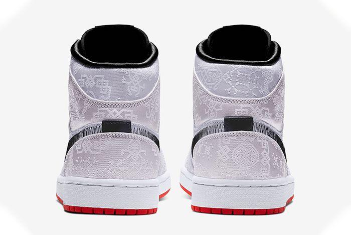 Clot Air Jordan 1 Mid Fearless Heel