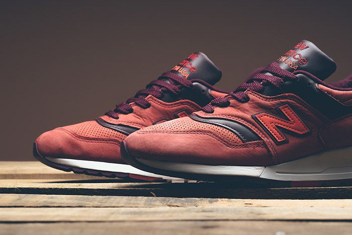 New Balance Horween 997 Red Clay 1