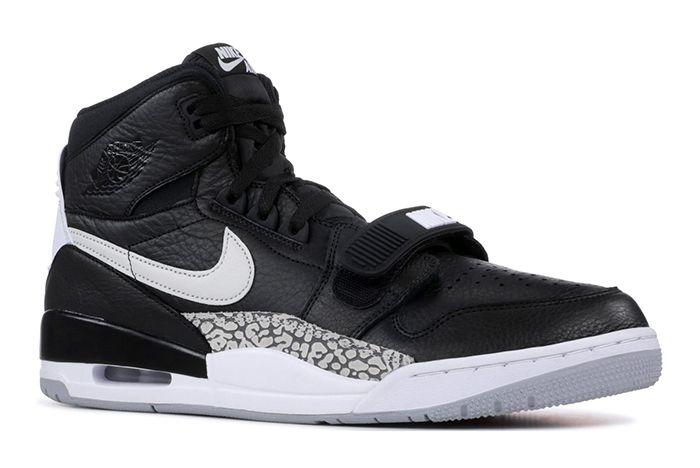 Jordan Legacy 312 Black Cement 2