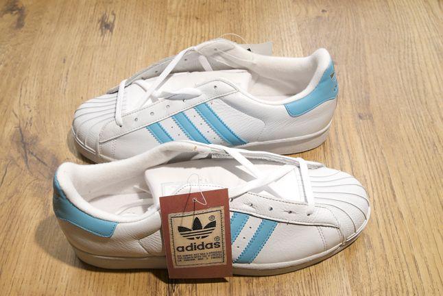 Adidas Superstar Baby Blue Stripes 1