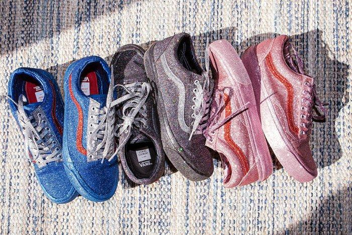 Opening Ceremony X Vans Old Skool Glitter Pack 4